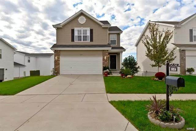 1024 Chesterfield Drive, Wentzville, MO 63385 (#20077469) :: Walker Real Estate Team