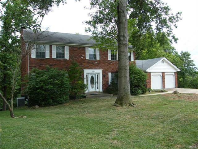 502 Winding Trail Lane, Des Peres, MO 63131 (#17063765) :: RE/MAX Vision
