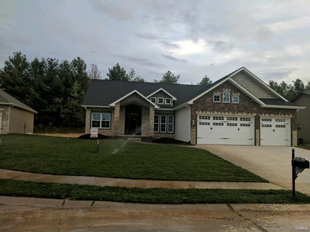 409 Briar Creek, Troy, IL 62294 (#17080171) :: Fusion Realty, LLC