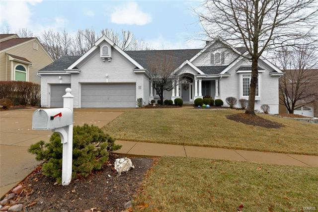 842 Dogwood Meadows Court, Ellisville, MO 63021 (#18000213) :: The Becky O'Neill Power Home Selling Team