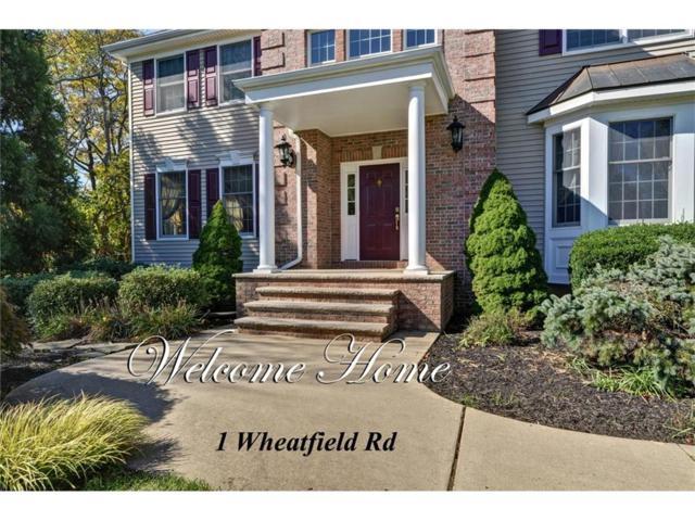 1 Wheatfield Road, Cranbury, NJ 08512 (MLS #1806287) :: The Dekanski Home Selling Team