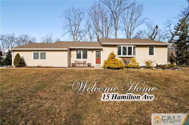 15 Hamilton Avenue, Marlboro, NJ 07751 (MLS #2010806) :: Team Gio | RE/MAX