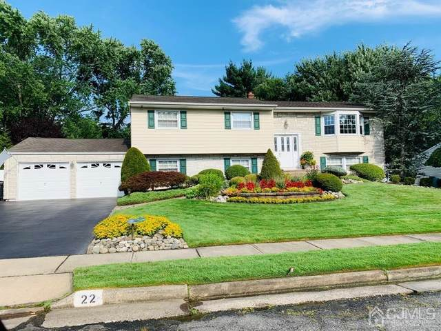 22 Wellington Road, East Brunswick, NJ 08816 (MLS #2112678R) :: William Hagan Group