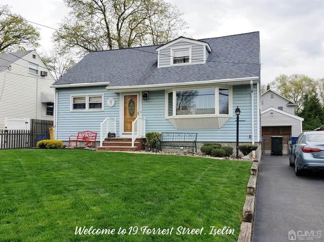 19 Forrest Street, Iselin, NJ 08830 (MLS #2115635R) :: William Hagan Group
