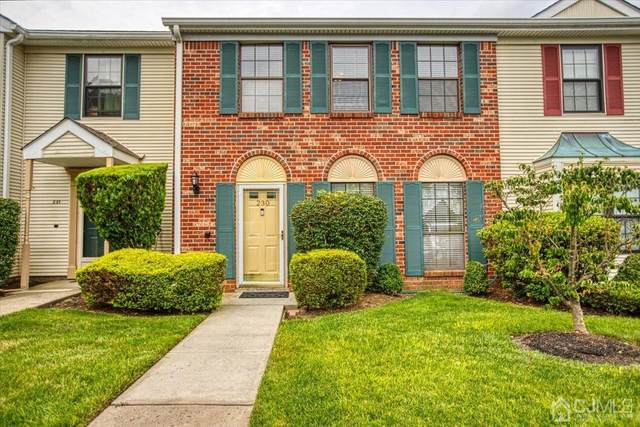 230 Bromley Place #230, East Brunswick, NJ 08816 (MLS #2201731R) :: Halo Realty