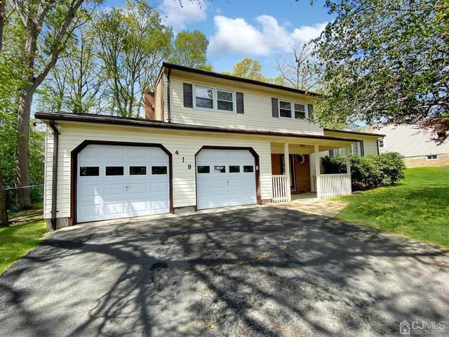418 Old Stage Road, East Brunswick, NJ 08816 (MLS #2116273R) :: RE/MAX Platinum