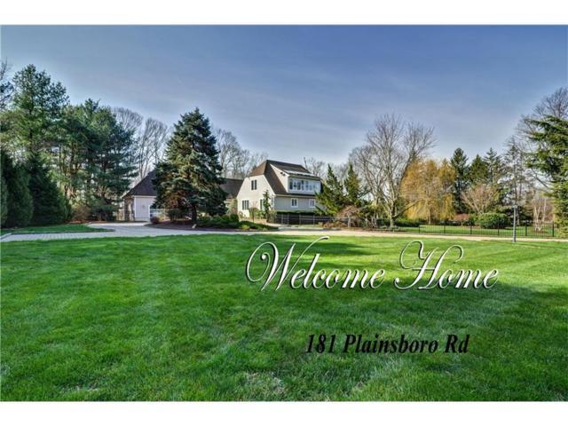 181 Plainsboro Road, Cranbury, NJ 08512 (MLS #1714441) :: The Dekanski Home Selling Team