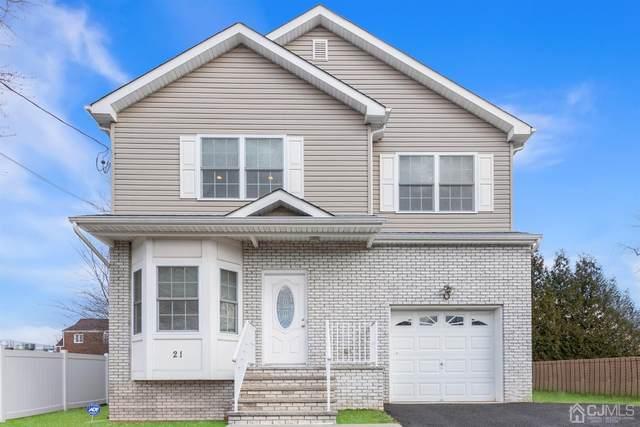 21 Taft Avenue, Edison, NJ 08817 (MLS #2110933) :: Gold Standard Realty