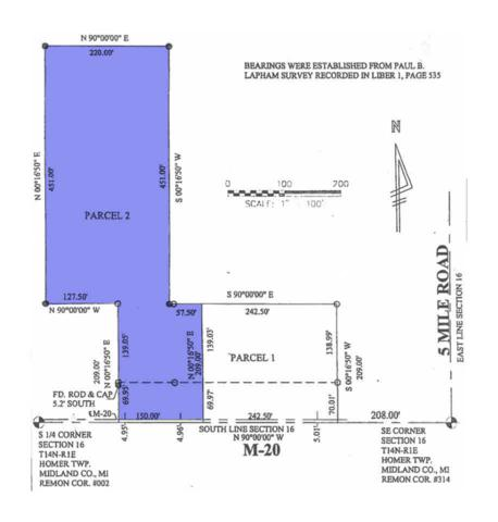 463 E Isabella, Midland, MI 48640 (MLS #30911001) :: Bricks Real Estate Experts