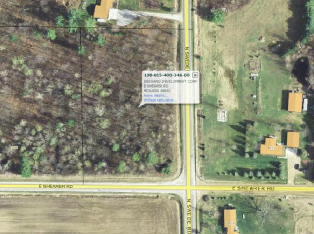 Lot A Shearer, Midland, MI 48642 (MLS #31347759) :: Bricks Real Estate Experts