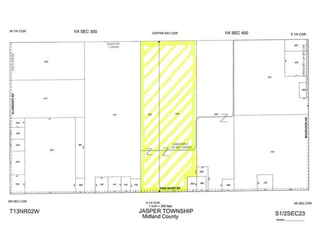 3760 W Pine River Rd, Saint Louis, MI 48880 (MLS #31355084) :: Bricks Real Estate Experts