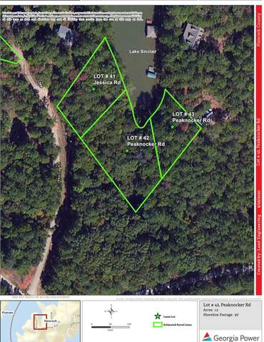 Lot #42 Peaknocker Road, Sparta, GA 31087 (MLS #42188) :: Lane Realty