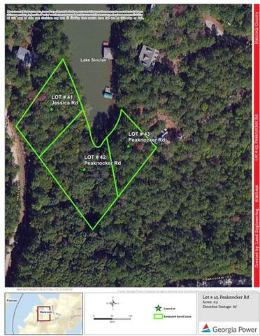 Lot #43 Peaknocker Road, Sparta, GA 31087 (MLS #42189) :: Lane Realty