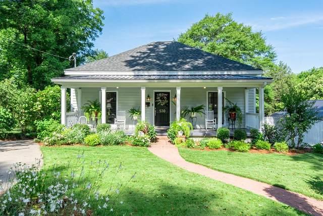 530 N. Irwin St., Milledgeville, GA 31061 (MLS #45065) :: Lane Realty