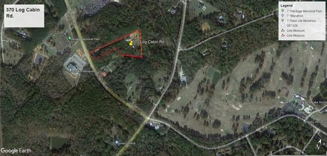 370 Log Cabin Rd., Milledgeville, GA 31061 (MLS #45457) :: Lane Realty