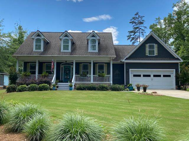 142 Lakeview Drive, Milledgeville, GA 31061 (MLS #42075) :: Lane Realty