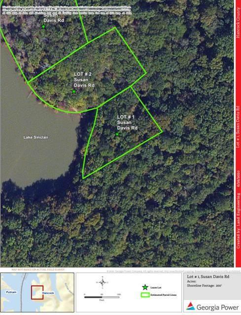Lot #1 Susan Davis Road, Sparta, GA 31087 (MLS #42180) :: Lane Realty