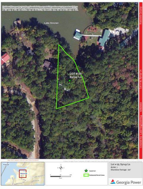 Lot #55 Widener Way, Sparta, GA 31087 (MLS #42207) :: Lane Realty