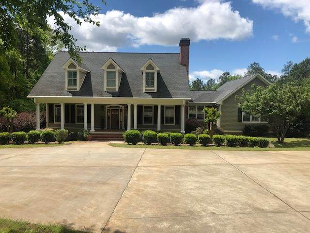 258 Rose Creek Road, Eatonton, GA 31024 (MLS #42528) :: Lane Realty