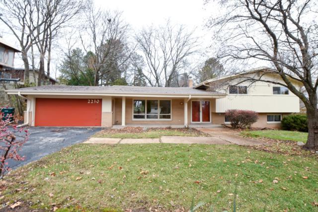 2230 W Bernard Ln, Glendale, WI 53209 (#1614622) :: Vesta Real Estate Advisors LLC
