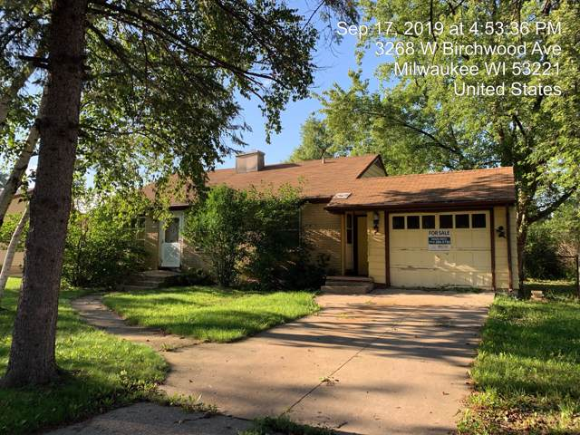 3268 W Birchwood Ave, Milwaukee, WI 53221 (#1659624) :: RE/MAX Service First Service First Pros