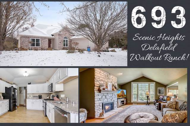 693 Scenic Heights Dr, Delafield, WI 53018 (#1667963) :: RE/MAX Service First Service First Pros