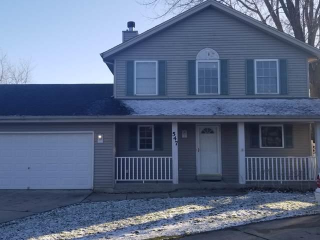 547 N Dries St, Saukville, WI 53080 (#1670888) :: Tom Didier Real Estate Team