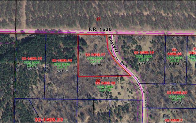Lot 3 Walleye Run, Stephenson, WI 54114 (#1675731) :: RE/MAX Service First
