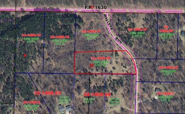 Lot 20 Walleye Run, Stephenson, WI 54114 (#1675733) :: RE/MAX Service First
