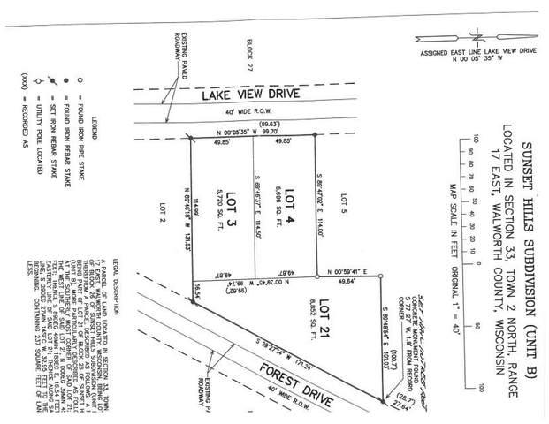 Lt3 Lakeview Dr Lt4,Lt21, Geneva, WI 53147 (#1744615) :: OneTrust Real Estate