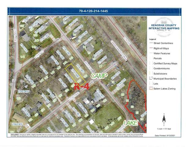 Lt160 271st Ave, Salem Lakes, WI 53179 (#1766795) :: Re/Max Leading Edge, The Fabiano Group