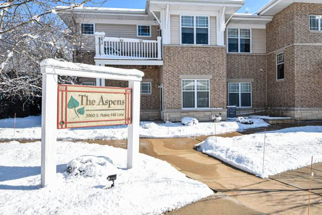 3960 S Prairie Hill Ln #101, Greenfield, WI 53228 (#1676559) :: Keller Williams Realty Milwaukee North Shore