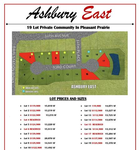 Lt11 93rd Ct, Pleasant Prairie, WI 53158 (#1748142) :: RE/MAX Service First