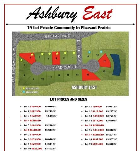 Lt18 93rd Ct, Pleasant Prairie, WI 53158 (#1748193) :: RE/MAX Service First