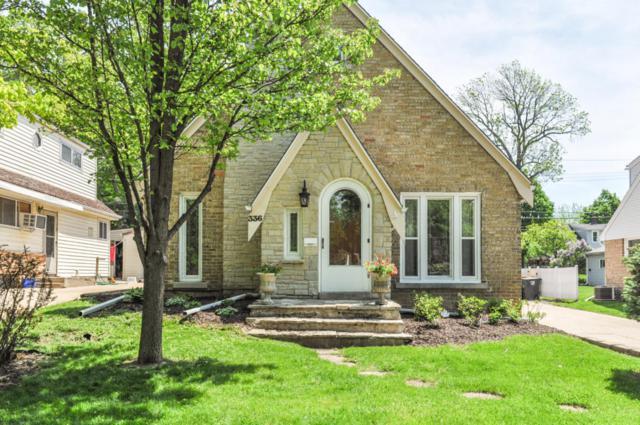336 N 116th St, Wauwatosa, WI 53226 (#1582245) :: Vesta Real Estate Advisors LLC