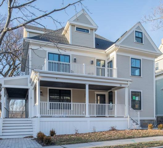 39 Columbia St #1, Brookline, MA 02446 (MLS #72120179) :: Goodrich Residential