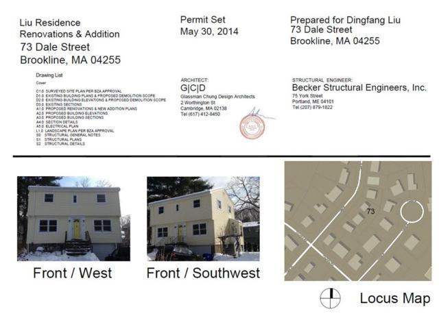 73 Dale St, Brookline, MA 02467 (MLS #72180967) :: Vanguard Realty