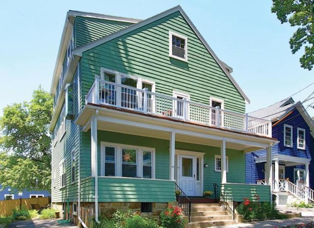 41 Ackers Ave #2, Brookline, MA 02445 (MLS #72185218) :: Goodrich Residential