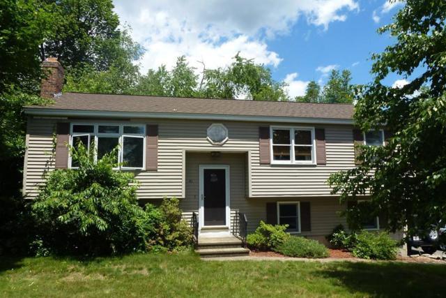 41 Long Hill Dr, Leominster, MA 01453 (MLS #72187307) :: The Home Negotiators