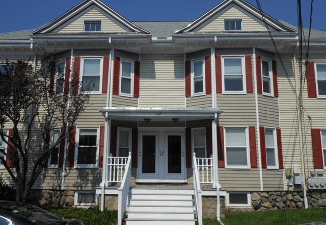 337 Newton Street #2, Waltham, MA 02453 (MLS #72201330) :: Vanguard Realty