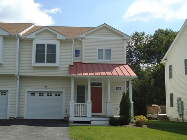164 Bear Hill Road #17, Cumberland, RI 02864 (MLS #72214625) :: Westcott Properties