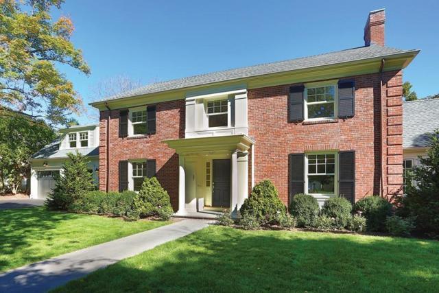 37 Hilltop Rd, Brookline, MA 02467 (MLS #72237060) :: Vanguard Realty