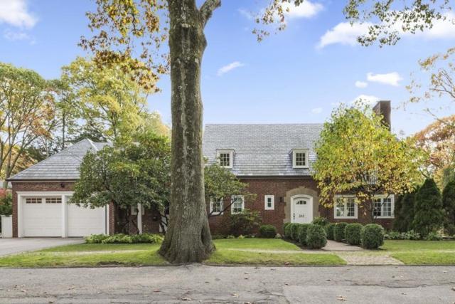 242 Woodland Rd, Brookline, MA 02467 (MLS #72252067) :: Goodrich Residential