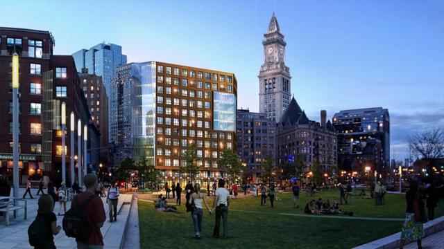 110 Broad Street #702, Boston, MA 02110 (MLS #72255403) :: Goodrich Residential