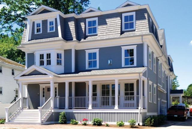 683 Hammond St A, Brookline, MA 02467 (MLS #72256513) :: Goodrich Residential