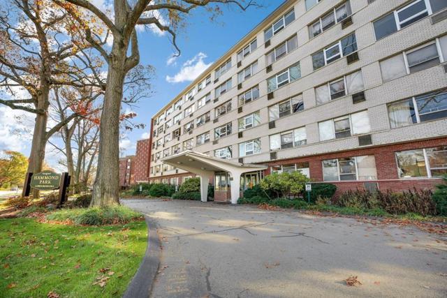 10 Hammond Pond Pkwy #605, Newton, MA 02467 (MLS #72258727) :: Goodrich Residential