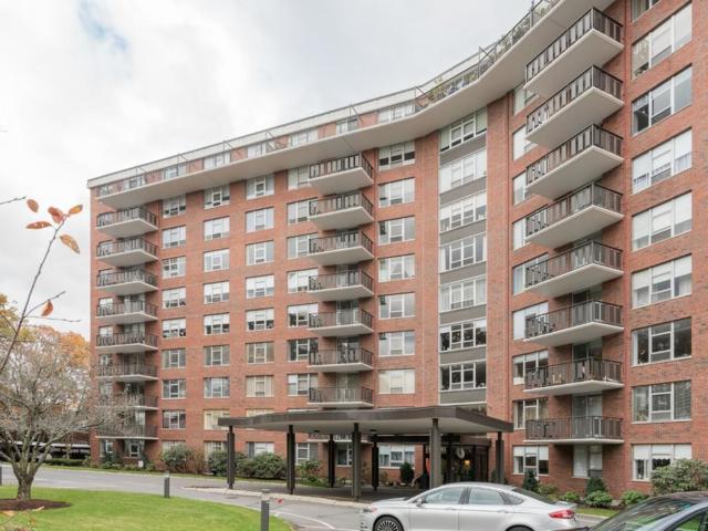 280 Boylston Street #615, Newton, MA 02467 (MLS #72259638) :: Goodrich Residential