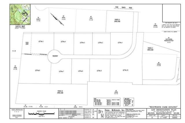 Lot 5 Wentworth Farms, Milton, MA 02186 (MLS #72260270) :: Westcott Properties