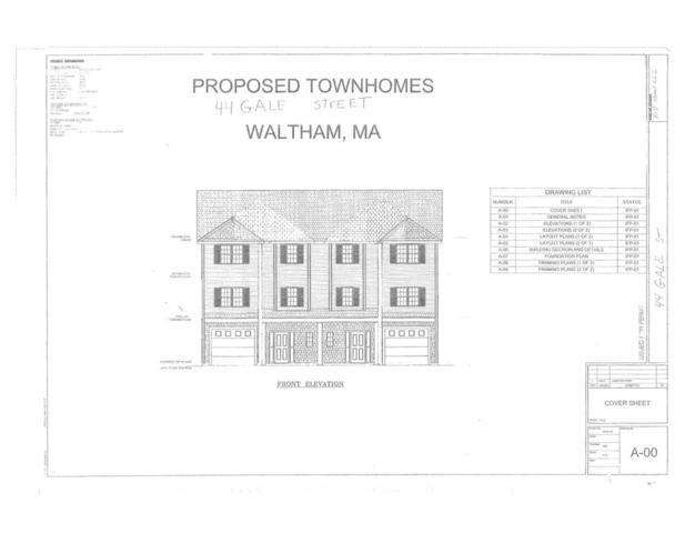 42 Gale Street #1, Waltham, MA 02453 (MLS #72262343) :: Vanguard Realty