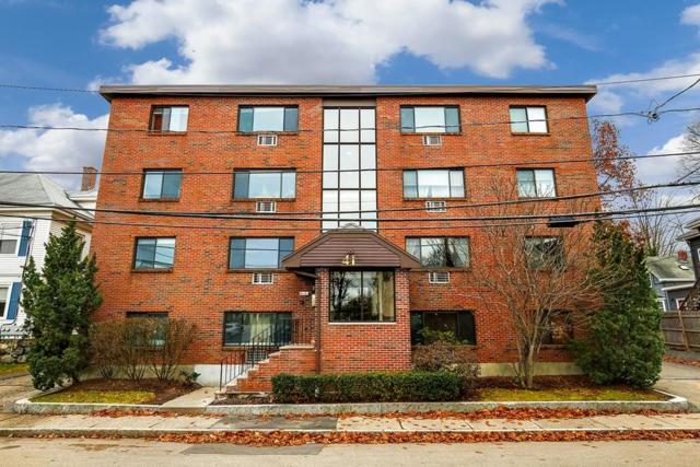 41 Walnut Street #21, Waltham, MA 02453 (MLS #72263691) :: Vanguard Realty